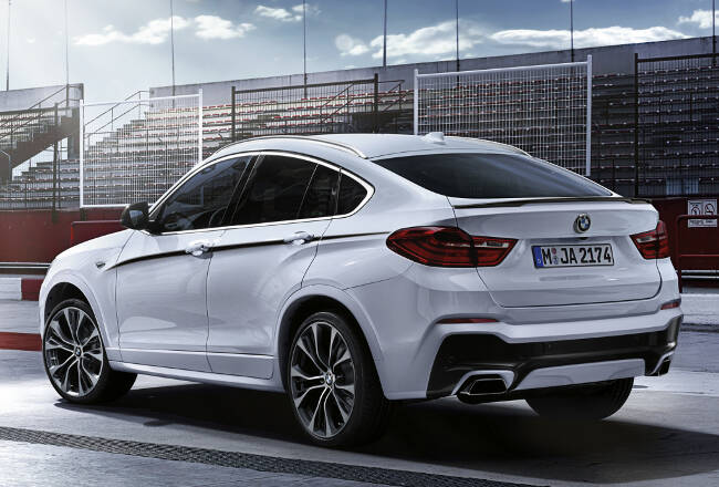 BMW X4 M Performance Accessories F26 - 8