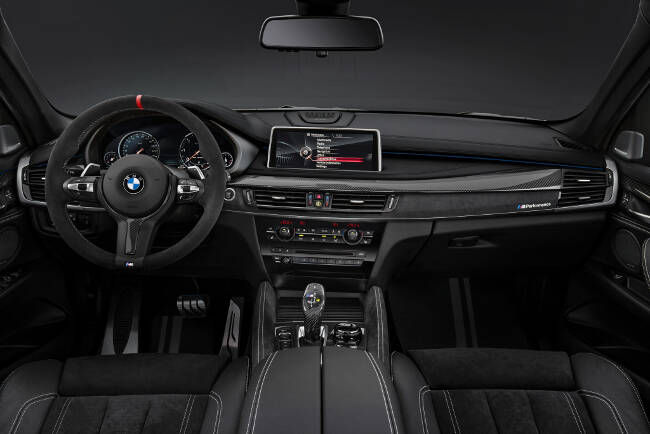 BMW X6 M Performance Accessories F16