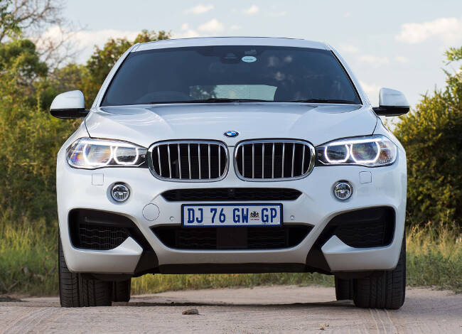 BMW X6 M Sport Package F16 - 1
