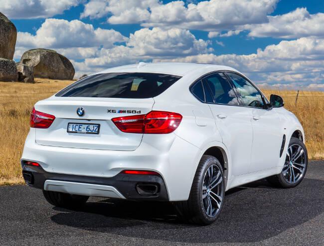 BMW X6 M50d F16 - 12