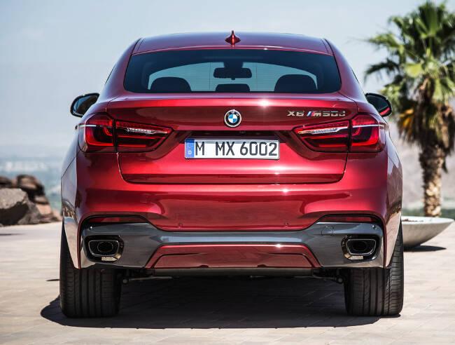 BMW X6 M50d F16 - 13