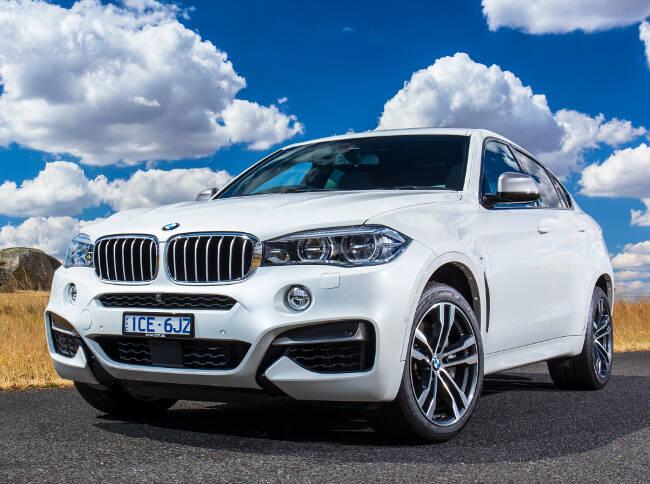 BMW X6 M50d F16 - 16