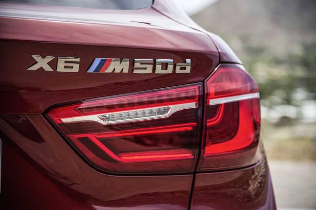 BMW X6 M50d F16 - 20