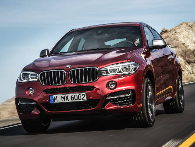 BMW X6 M50d F16 - 8