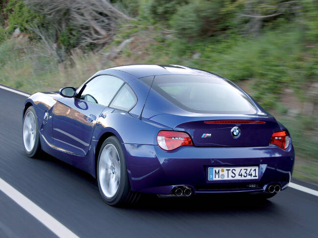 BMW Z4M Coupe E86 - 7