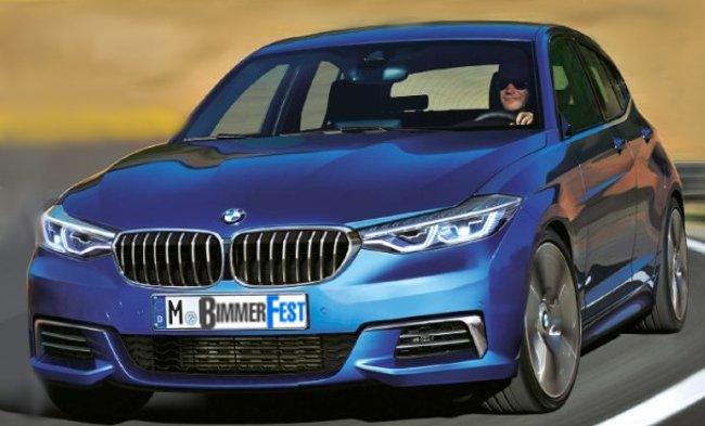 BMW F40 1 Series - 2018 - photo concept