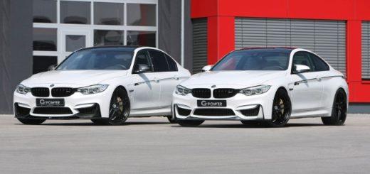BMW M3 F80 и M4 F82 G-Power - 1200