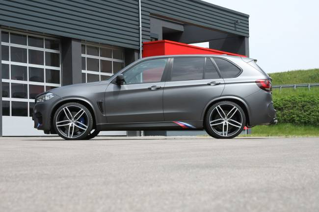 BMW X5 M G-POWER F85 Hurricane RR - вид сбоку