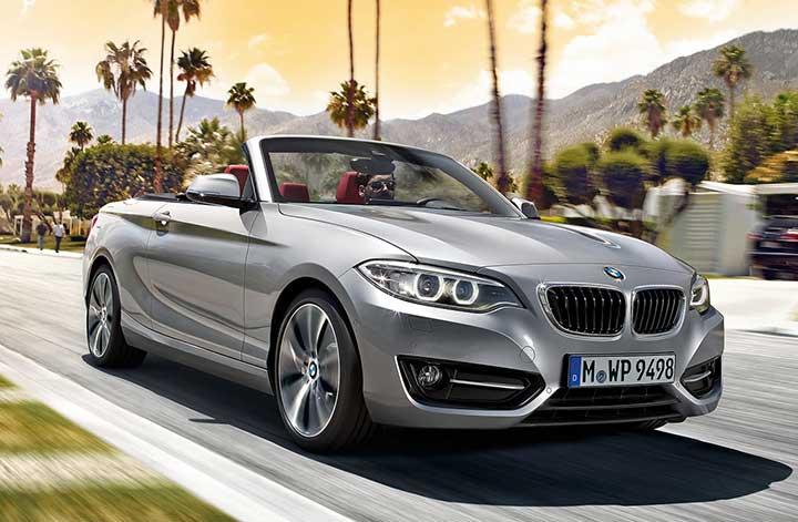 Кабриолет BMW 2 серии
