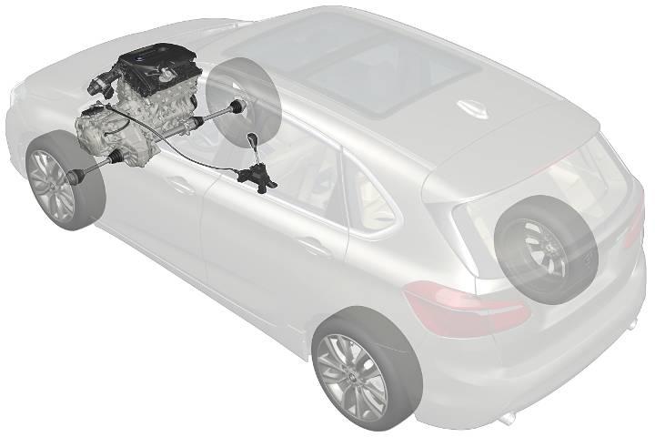 Передний привод в BMW Active Tourer 2 Series