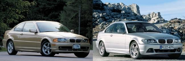 BMW 3 coupe e46 технические характеристики