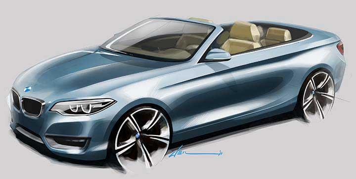 BMW 2 серии кабриолет - F23