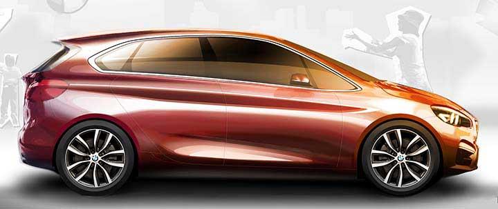 BMW 2 серии минивен - F45