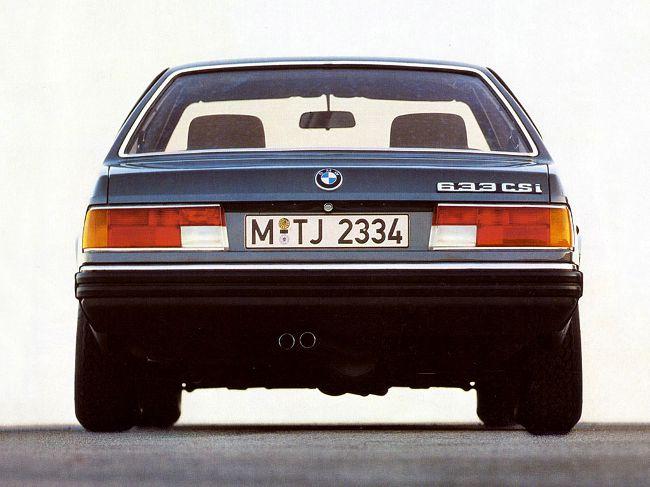 БМВ Е24 - первое поколение спортивных купе