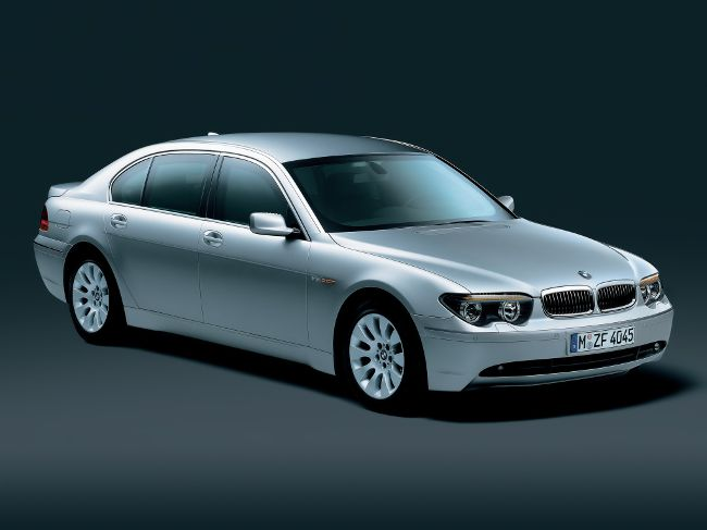 Бронированный седан BMW E67 High Security