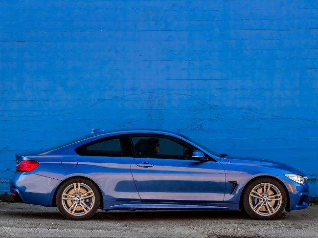 Купе BMW 4 Series F32 с M Sport Package