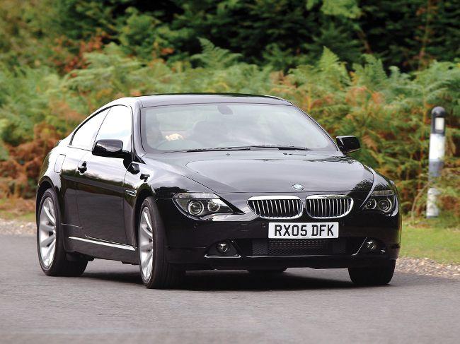 Купе BMW 6 серии в кузове Е63