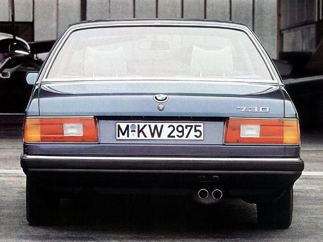 Первое поколение 7 серии - Е23