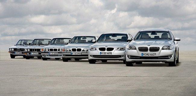 Семейство всех автомобилей 5 серии