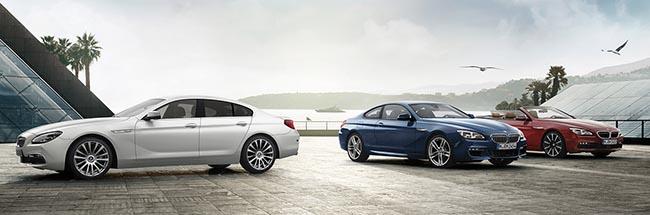 Семейство спортивных BMW 6 серии