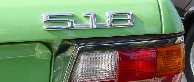 Шильдик 518 для БМВ 5 серии