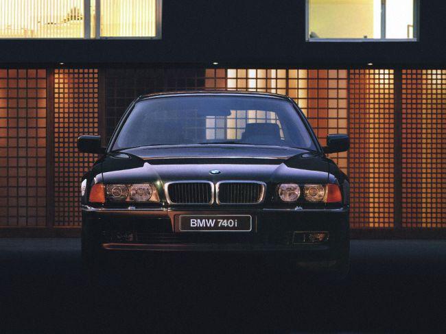 Элегантный BMW E38 7 Series 3-е поколения
