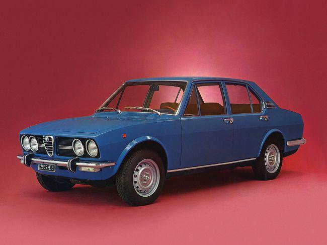 Alfa Romeo Alfetta 1972-1975 годы выпуска