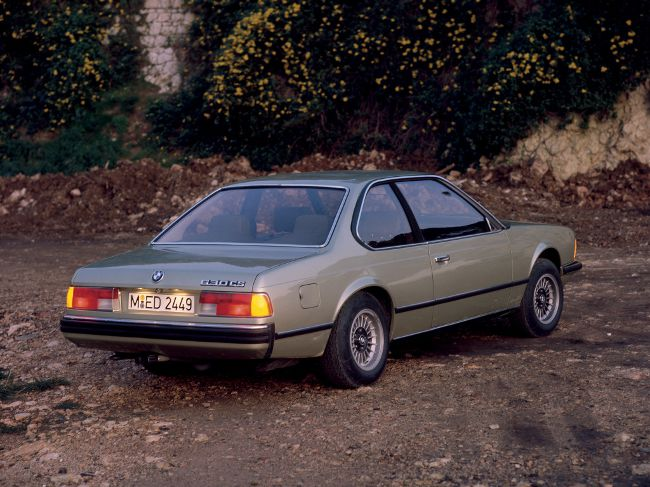 BMW E24 - первое поколение 6 серии
