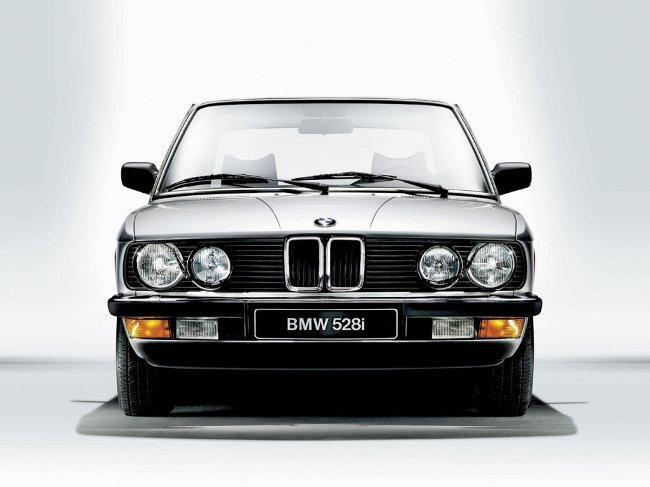 BMW E28 - второе поколение 5 серии