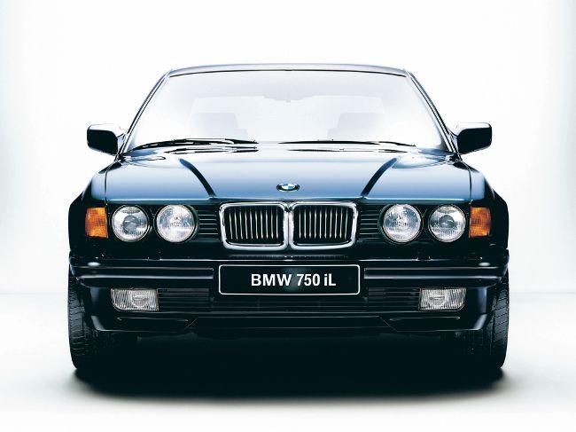 BMW E32 с 12-ю цилиндрами с удлиненной базой