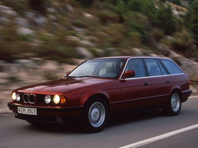 BMW E34 Touring - перый Туринг 5 Series