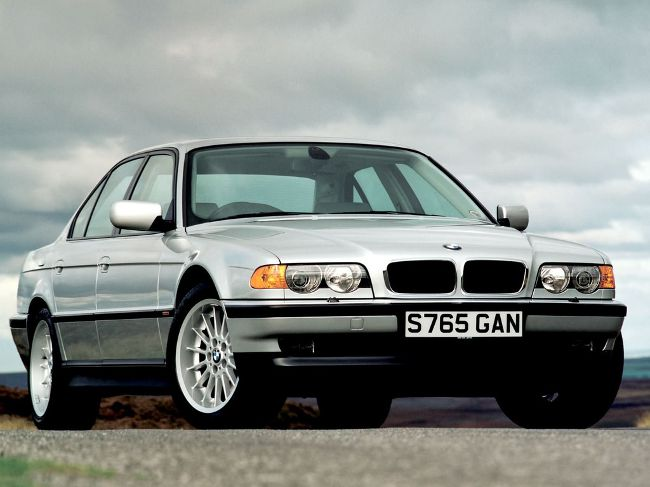 BMW E38 LCI после обновления