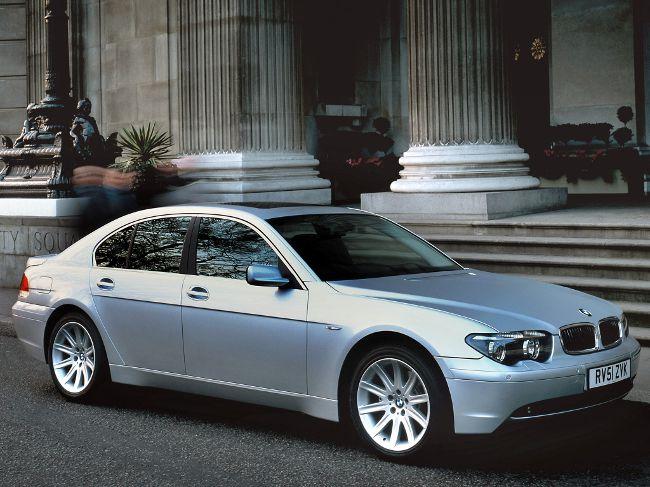 BMW E65 - четвертое поколение 7 серии