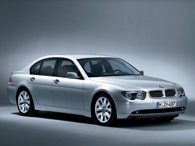 BMW E65 7 серии - до рестайлинга