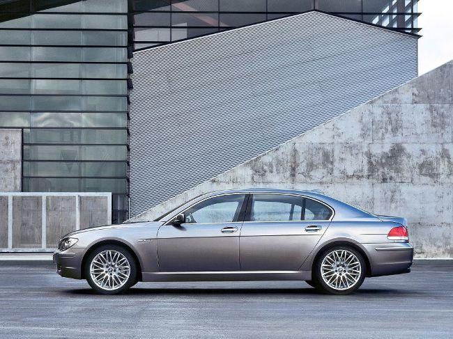 BMW E66 Long - после рестайлинга