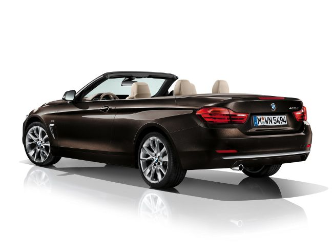 BMW F33 Cabrio Modern Line - 2013
