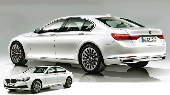 BMW G11 - шестое поколение 7 серии 2016 года