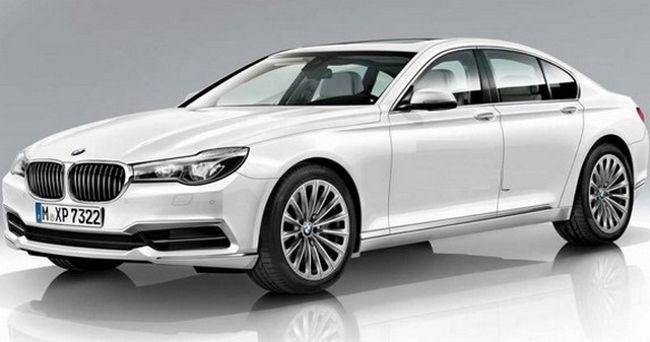 BMW G11 7 Series модельного ряда 2016 года
