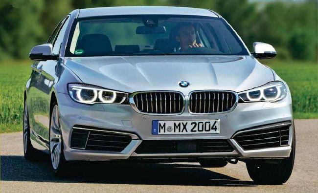 BMW G30 5 серии появится в 2016 году
