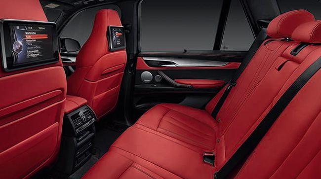 Задняя часть салона BMW X6M F86