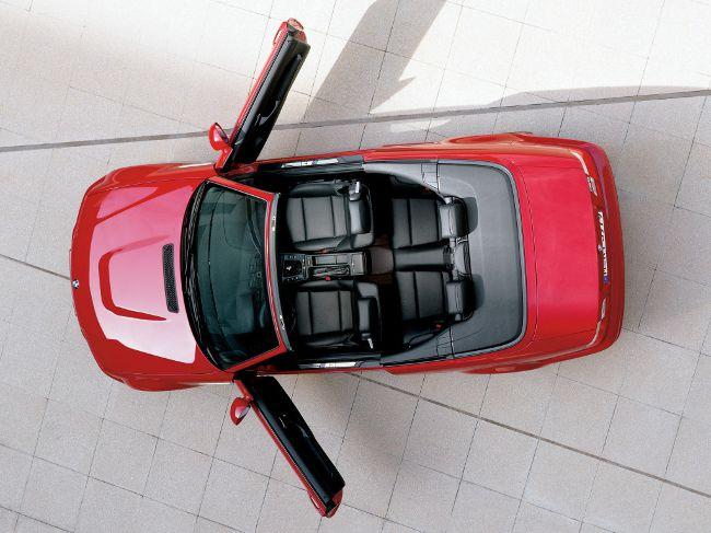 Кабриолет BMW M3 E46 - вид сверху