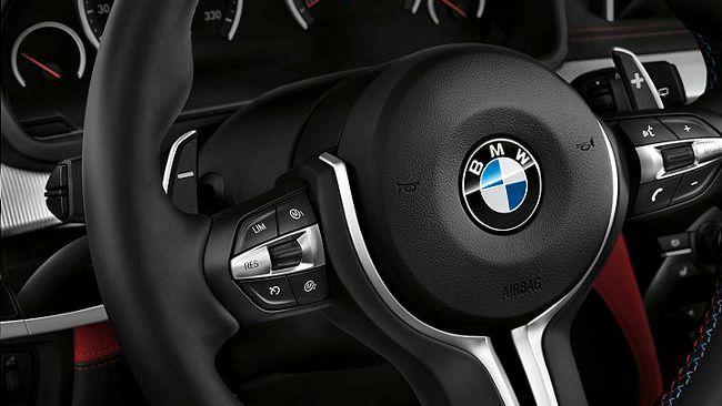 Многофункциональное рулевое колесо BMW X5 M F85