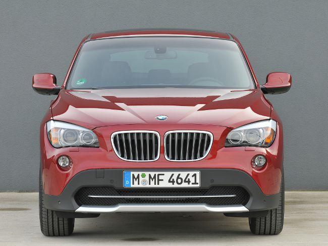 Первое поколение BMW X1 - E84 - вид спереди