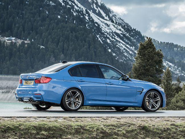 Роскошный седан BMW M3 F80