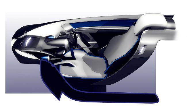 Салон трехколесного BMW i1