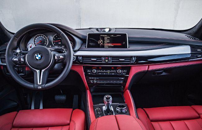 Салон BMW X5 M F85