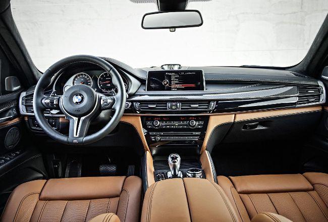 Салон BMW X6M F86