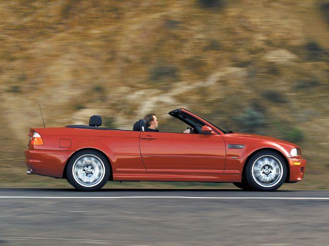 Фото кабриолета BMW M3 E46 для США