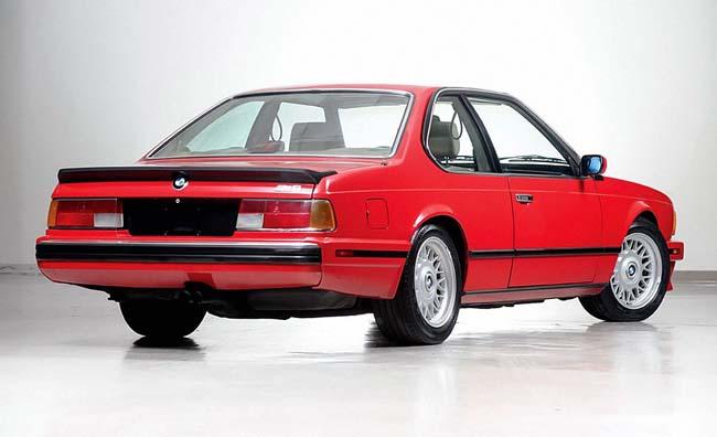 Фото первого BMW M6 - E24