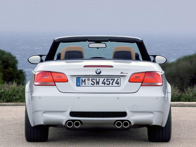 Фото BMW M3 E93 Cabrio